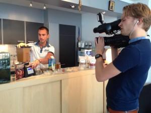 Wouter op tv RTL4