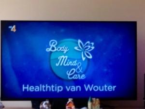 Healthtip van Wouter