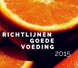 Richtlijnen goede voeding 2015
